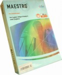 Бумага ксерокс. MAESTRO COLOR/ IQ COLOR А4, голубой лед-OBL70, 500л., 80г/м